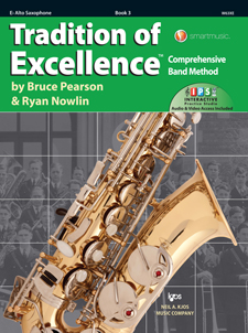 Tradition of Excellence Bk 3 Alto Sax