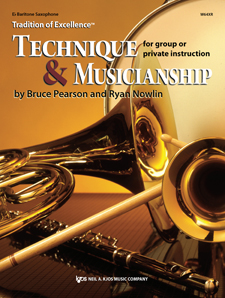 Tradition of Excellence Technique and Musicianship Bari Sax