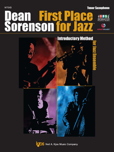 First Place for Jazz Tenor Sax JAZZ METHO