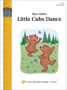 Kjos Dolen   Little Cubs Dance - Piano Solo Sheet