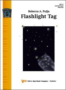 Kjos Pulju   Flashlight Tag - Piano Solo Sheet