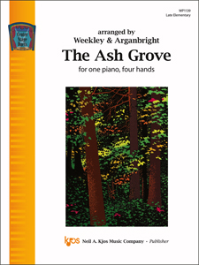 Kjos  Arganbright  Ash Grove - 1 Piano  / 4 Hands