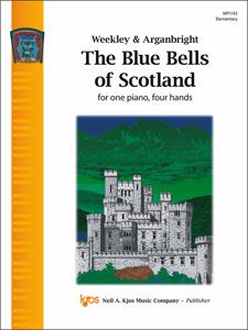 Kjos  Nancy Arganbright  Blue Bells of Scotland - 1 Piano  / 4 Hands