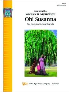 OH! SUSANNA 1 PIANO, 4