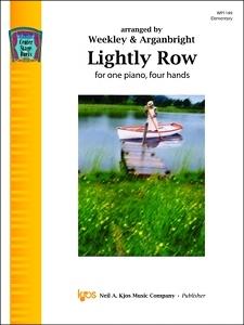 Kjos Nancy Arganbright Weekley/Arganbright  Lightly Row - 1 Piano  / 4 Hands