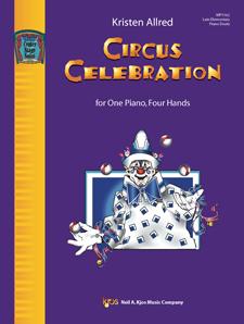 Kjos Allred   Circus Celebration - 1 Piano  / 4 Hands
