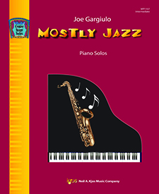 Mostly Jazz FED-MD1 [intermediate piano] Gargiulo piano solo