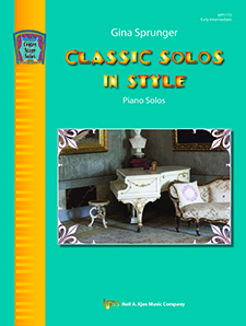 Classic Solos in Style FED-E4 [early intermediate piano] Sprunger piano solo
