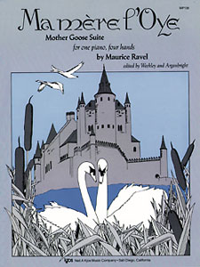 MA MERE L'OYE, MOTHER GOOSE SUITE 1 PIANO, 4