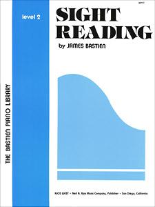 SIGHT READING, LEVEL 2 BASTIEN PA