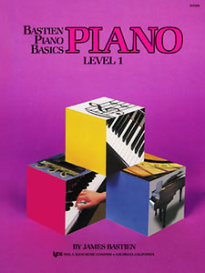BASTIEN PIANO BASICS, LEVEL 1, PIANO BASTIEN PA