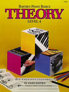Bastien Piano Basics Theory, Level 4