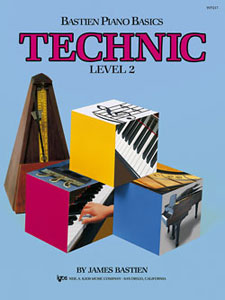 Bastien Piano Basics Technic, Level 2