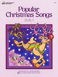 POPULAR CHRISTMAS SONGS, LEVEL 1 BASTIEN SP