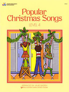 POPULAR CHRISTMAS SONGS, LEVEL 4 BASTIEN SP