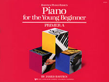 PIANO FOR THE YOUNG BEGINNER, PRIMER A BASTIEN PA