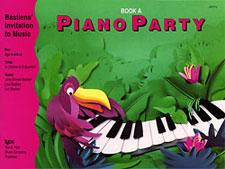 PIANO PARTY BOOK A BASTIEN IN