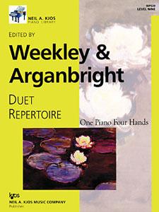 Duet Repertoire Level 9 - 1 Piano, 4 Hands