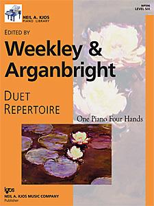 Duet Repertoire Level 6 FED-MD3/D2 [1p4h]