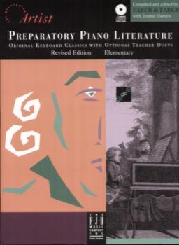 Artist Preparatory Piano Literature W/CD