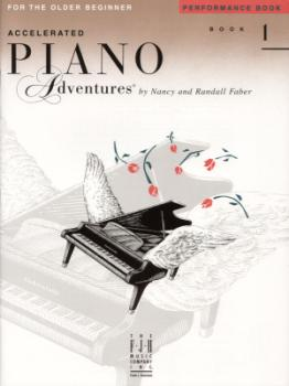 Piano Adventures Accelerated Older Beg Perf 1