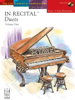 In Recital Duets Bk 1 w/cd FED-P1 [1p4h - early elementary]