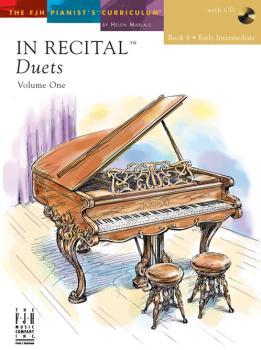 In Recital Duets Bk 4 FED-MED/MD2 [1p4h] w/cd