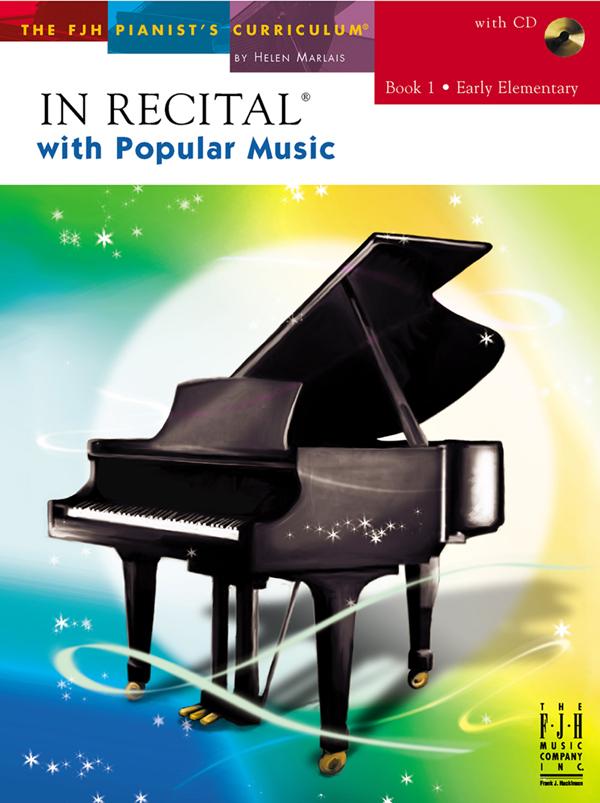 In Recital with Popular Music w/CD Bk. 1