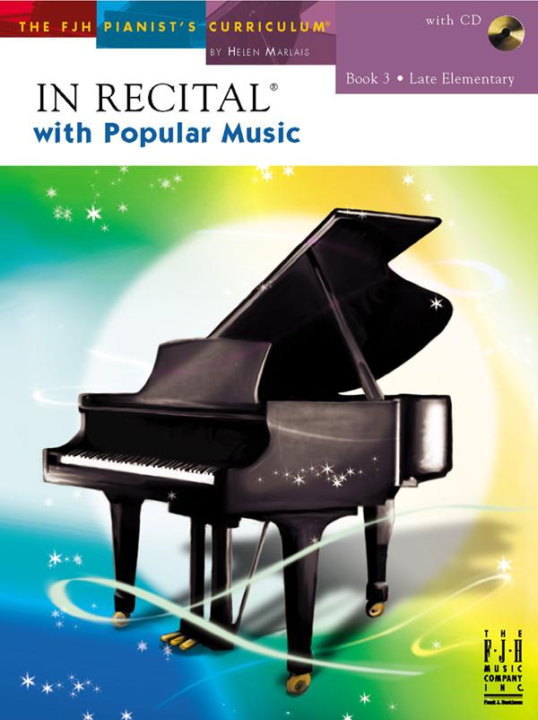 In Recital with Popular Music w/CD Bk. 3