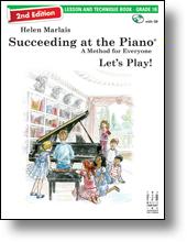 FJH Marlais H Helen Marlais  Succeeding at the Piano 2nd Edition - Lesson & Technique Grade 1B
