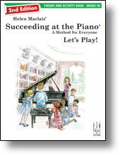 FJH Marlais H Helen Marlais  Succeeding at the Piano 2nd Edition - Theory & Activity Grade 1B