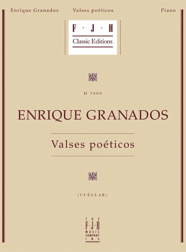 Granados - Valses Poeticos Piano