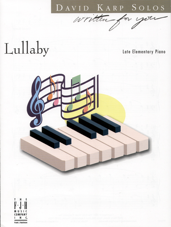 Lullaby IMTA-A [piano] Karp (LE)