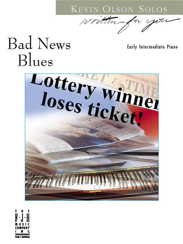 Ted Brown Music - Bad News Blues (NFMC) Elem III Piano