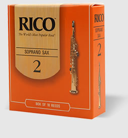 Rico - Soprano Sax Reeds, Strength 1.5, Single Reed