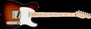 Fender 0113062700 American Pro Telecaster®, Maple Fingerboard, 3-Color Sunburst