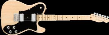 Fender 0113082721 American Pro Telecaster Deluxe ShawBucker , Maple Fingerboard, Natural Ash