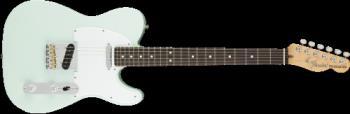 Fender 0115110372 American Performer Telecaster, Rosewood Fingerboard, Satin Sonic Blue