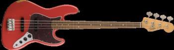 Fender 0131813340 Road Worn® '60s Jazz Bass®, Pau Ferro Fingerboard, Fiesta Red