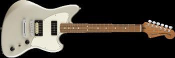 0143523351 Fender® PowerCaster , Pau Ferro Fingerboard, White Opal