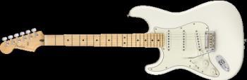 Fender - Player Stratocaster® Left-Handed, Maple Fingerboard, Polar White