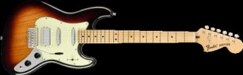 0145022300 Fender® Sixty-Six , Maple Fingerboard, 3-Color Sunburst