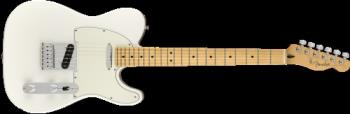Fender 0145212515 Player Telecaster, Maple Fingerboard, Polar White