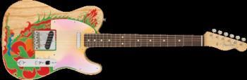 Fender 0146230721 Jimmy Page Telecaster, Rosewood Fingerboard, Natural