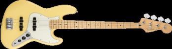 Fender 0149902534 Player Jazz Bass, Maple Fingerboard, Buttercream