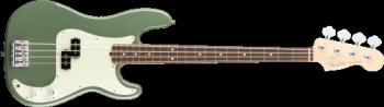 Fender 0193610776 American Pro Precision Bass, Rosewood Fingerboard, Antique Olive