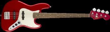 Squier 0370400525 Contemporary Jazz Bass, Laurel Fingerboard, Dark Metallic Red