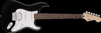 Squier 0371005506 Bullet Stratocaster HT HSS, Laurel Fingerboard, Black