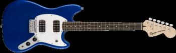 Squier 0371220587 Bullet Mustang HH, Laurel Fingerboard, Imperial Blue
