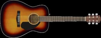 Fender 0970150032 CC-60S Concert, Walnut Fingerboard, 3-Color Sunburst